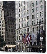 City Life - New York City Acrylic Print