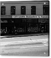 City Lights Booksellers Acrylic Print