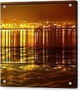 City Lights Peoria Il Acrylic Print