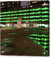 City Lights Urban Abstract Acrylic Print