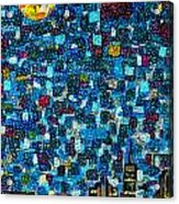 City Mosaic Acrylic Print