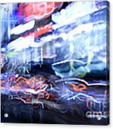 City Motion 6092 Acrylic Print by Igor Kislev