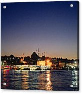 Colours Of Istanbul Acrylic Print