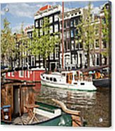 City Of Amsterdam Acrylic Print