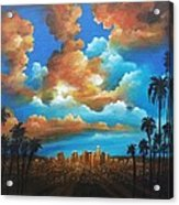 City Of Angels Acrylic Print