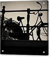 City Of Bikes Acrylic Print
