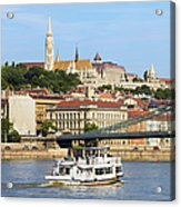 City Of Budapest Acrylic Print