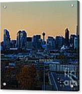 City Of Calgary Acrylic Print