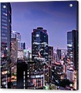 City Of Glass And Light Acrylic Print
