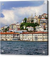 City Of Istanbul Cityscape Acrylic Print