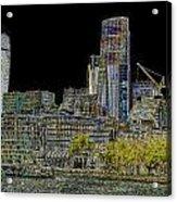 City Of London Art Acrylic Print