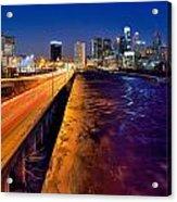 City Of Philadelphia Acrylic Print