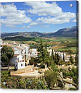 City Of Ronda In Spain Acrylic Print