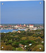 City Of St Augustine Florida Acrylic Print