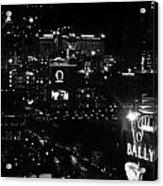 City Of Vegas 2008 Acrylic Print