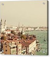 City Of Venice Acrylic Print