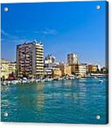 City Of Zadar Waterfront And Harbor Acrylic Print