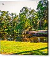 City Park New Orleans Acrylic Print