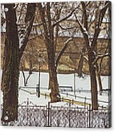 City Park Acrylic Print
