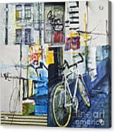 City Poetry Acrylic Print by Elena Nosyreva