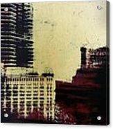 City Positive  Acrylic Print