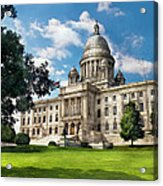 City - Providence Ri - The Capitol  Acrylic Print