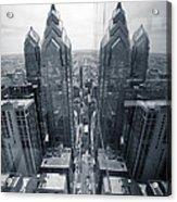 City Reflections Acrylic Print