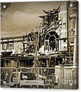 City Ruins Acrylic Print