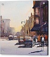 City Shadows Acrylic Print