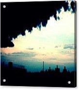 City Silhouette  Acrylic Print