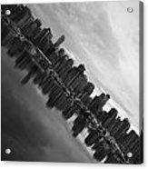 City Slope  Acrylic Print