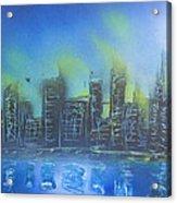 City Spray II Acrylic Print