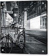 City That Never Sleeps Acrylic Print