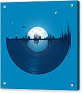 City Tunes Acrylic Print
