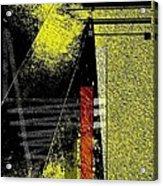 City Under The Pressures  Acrylic Print