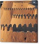 City Walls Of Khiva Acrylic Print