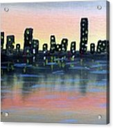 City Water Acrylic Print