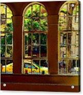 City Windows Acrylic Print