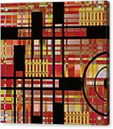 City Works Acrylic Print