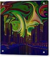 City World Acrylic Print