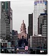 Cityscape 28 B Austin Acrylic Print