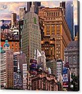 Cityscape Dream Acrylic Print