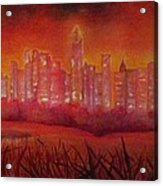 Cityscape Gold Coast Acrylic Print