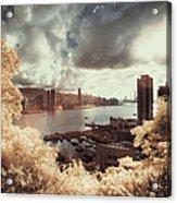 Cityscape In Dream Acrylic Print