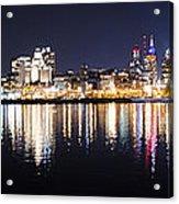Cityscape - Philadelphia Acrylic Print