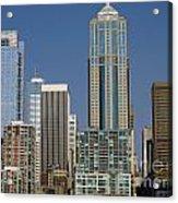 Cityscape Seattle Acrylic Print