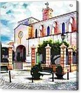 Ciutadella Church Acrylic Print