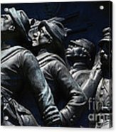 Civil War Figures Acrylic Print