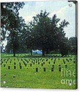 Civil War Gravesites Acrylic Print