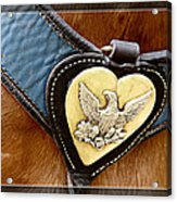 Civil War Horse Breastplate Acrylic Print